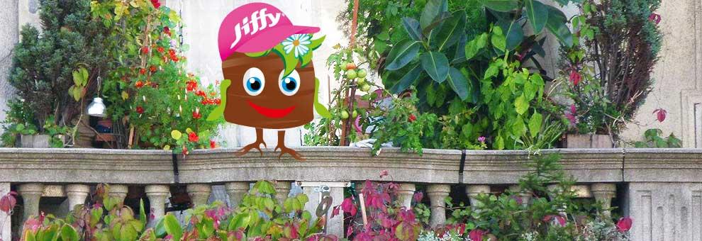 Urban Gardening   With Jiffy!